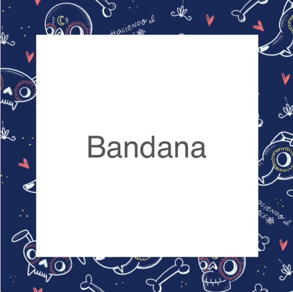 Badana – Haciendo el galgo – Semitransparente – Azul
